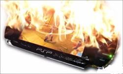 burning psp