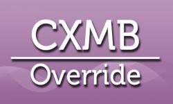 cxmb override icone