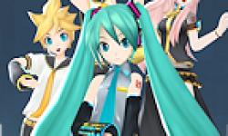 Hatsune Miku Procject Diva 2 PSP Logo