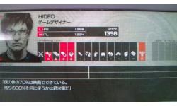 Hideo Kojima personnage dans Metal Gear Solid Peace Walker003