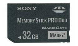 memory stick pro duo 32 gb