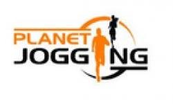 Planet jogging icon