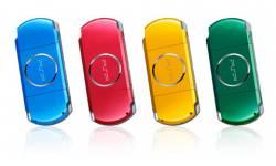 PSP multicouleurs
