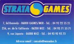 stratagames cagnes nice