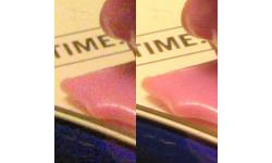 Super resolution example closeup