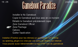 gameboot paradize 20
