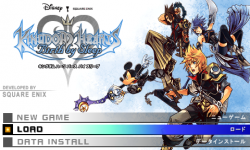 Kingdom Hearts Birth sleep PSP screenshots 14