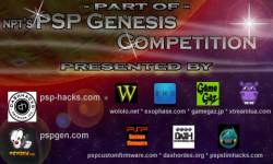 PSP genesis competition splashscreen