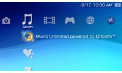 PSP music unlimited